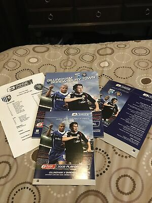£7.99 • Buy 2009 League 2 Play Off Final Gillingham V Shrewsbury Town Special Pack