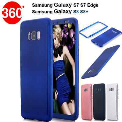 AU6.28 • Buy 360° Hybrid Armour Guard Case Covers For Samsung Galaxy S7 S7 Edge / S8 S8 Plus