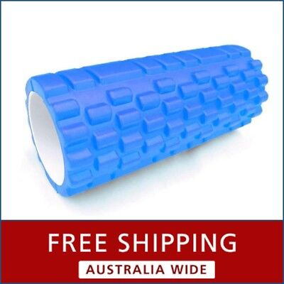 AU33.50 • Buy Therapy Roller 32cm Gridded Tool Massage Exercise Pilates Foam Workout Trigger