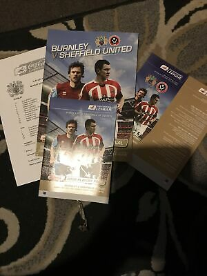 £7.99 • Buy 2009 Championship Play Off Final Burnley V Sheffield United Special Pack Mint