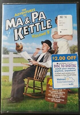 $9.95 • Buy The Adventures Of Ma And Pa Kettle - Volume 2 (DVD, 2011, 2-Disc Set)