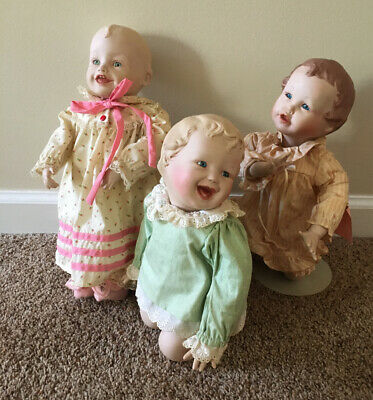 $ CDN30.19 • Buy Set Of 3 Beautiful Baby Dolls By Yolanda Bello #A5