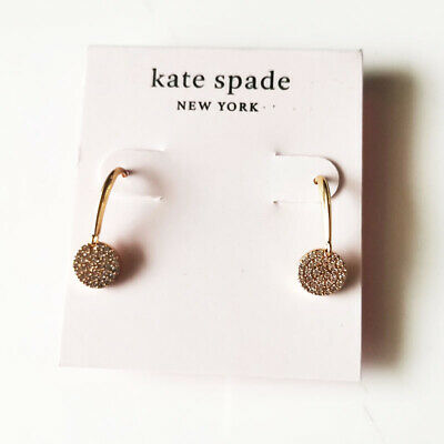 $ CDN10.39 • Buy New Kate Spade CZ Round Drop Earrings Gift Fashion Women Party Holiday Jewelry
