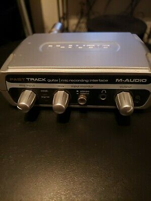 $18 • Buy M Audio Interface Fast Track