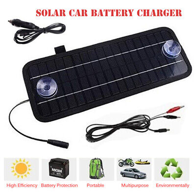 AU27.08 • Buy 12V 4.5W Solar Panel Power Trickle Car Auto Boat Battery Charger Backup Charging
