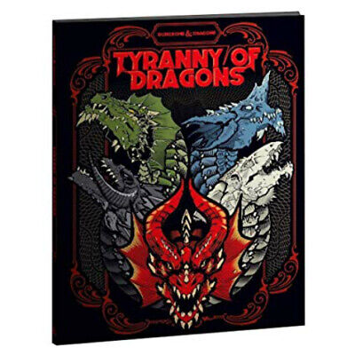 AU70.95 • Buy D&D Tyranny Of Dragons Hard Cover 5th Edition Book