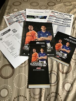 £8.99 • Buy 2010 Championship Play Off Final Blackpool V Cardiff City Special Pack Mint Cond