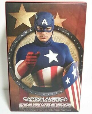 $ CDN433.29 • Buy HOT TOYS Captain America Army Mascot Edition First Avenger 1/6 From Japan