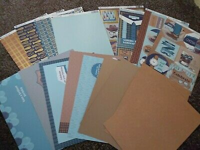 £4.50 • Buy Kanban About A Boy Card Making Kit Toppers, Card, Paper, And Inserts Brand New