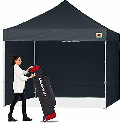 Black Gazebo With Side Panels For Garden, Patio Or Camping • 360.99£