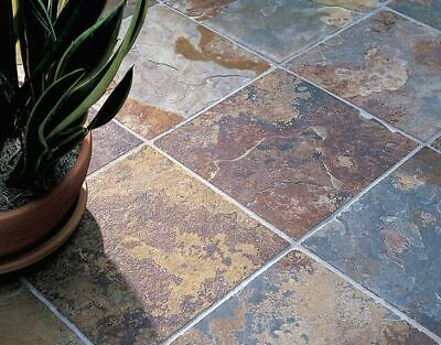 £260 • Buy Rustic Copper Slate Paving Slabs Flags Patio Path Indian Stone Sawn Tile 15.12m2