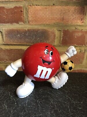 £4.99 • Buy Retro Vintage 1991 M&M Mars Chocolate Dispenser Collectable - Red Football