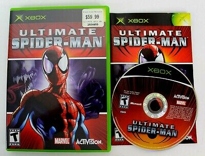 £14.50 • Buy Ultimate Spider-Man Microsoft XBOX With Booklet 2005 Excellent Condition
