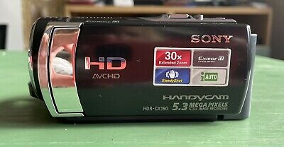 Sony Hdr-cx190e Small , Light, Handycam, Hd 1080 • 24£