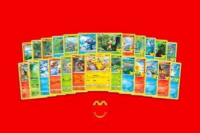 $24.95 • Buy McDonalds Pokemon 25th Anniversary - Choose Your Card! All Cards Available!