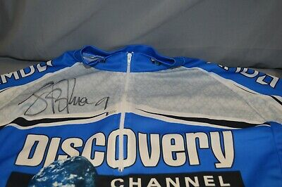 £392.68 • Buy Lance Armstrong Jersey Jacket Discovery Autograph Signed Beckett ZJJ 035