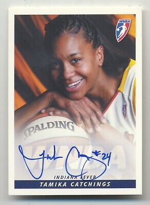 $ CDN21.23 • Buy 2005 Wnba Rittenhouse Tamika Catchings Auto Card | 2020 Hall Of Fame Inductee