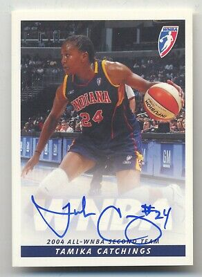 $ CDN12.12 • Buy 2005 Wnba Rittenhouse Tamika Catchings Auto Card | 2020 Hall Of Fame Inductee