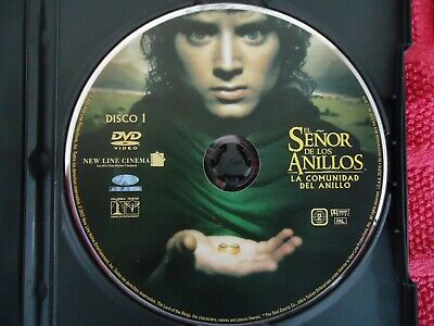 £9.99 • Buy Learn Spanish English Subtitles Dvd Film Lord Of The Rings Part 1 Tolkien Pal 2