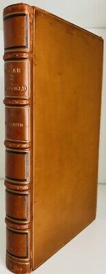 £125 • Buy Oliver Goldsmith : The Vicar Of Wakefield : 1904 : Superb Bumpus Binding : VGC