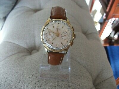 $ CDN555.71 • Buy Vintage Unitas Chronograph Gents Wristwatch