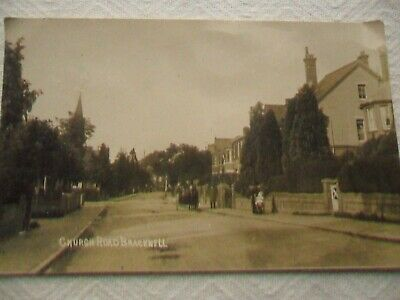 Real Photo Postcard - Church Road, Bracknell 1927 • 2.50£