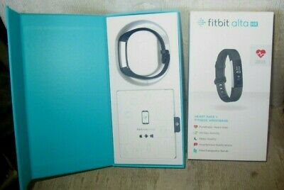 $ CDN60.65 • Buy Fitbit Alta HR Hear Rate & Fitness Tracker Back Medium/Large In Box + Charger