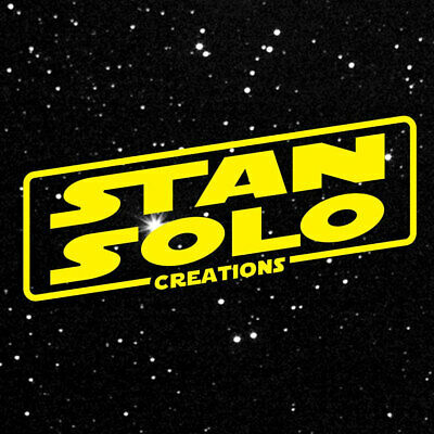 $ CDN45.13 • Buy You Choose Stan Solo Star Wars Reproduction Custom Vintage-Style Action Figures