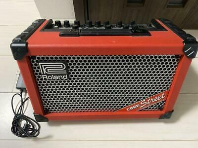 AU459.78 • Buy ROLAND CUBE Street RED Dry Battery Driveable Guitar Combo Amp