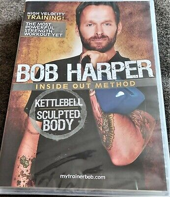 Bob Harper - Inside Out Method - Kettlebell Sculpted Body DVD • 12.99£