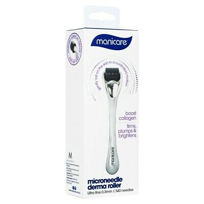 AU25.32 • Buy Manicare Microneedle Derma Roller Boost Collagen Firms Plumps & Brightens 23109