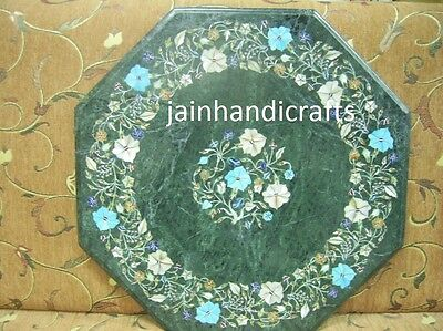 £300 • Buy 18  Green Marble Coffee Center Table Top  Malachite Living Room Inlay Corner