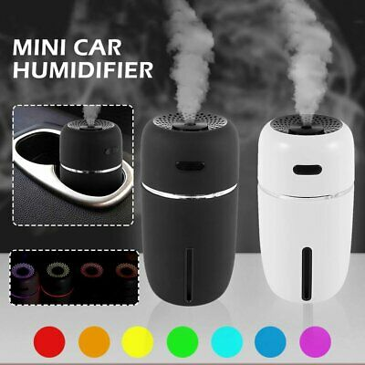 AU21.98 • Buy LED USB Ultrasonic Car Air Humidifier Oil Aroma Cool Mist Diffuser Aromatherapy