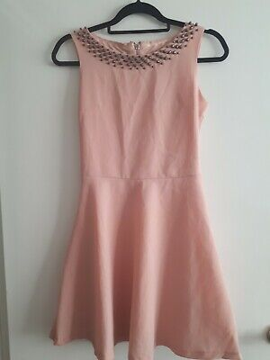 Pink Ladies Summer/ Work Dress Freesia Collection Size S • 4£
