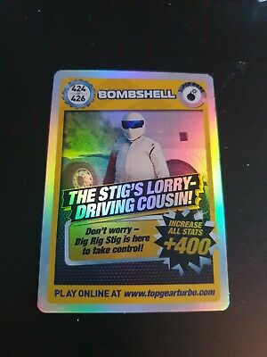 £1 • Buy Top Gear Turbo Challenge Super Rare 424 Bombshell - Stig's Lorry Driving Cousin!