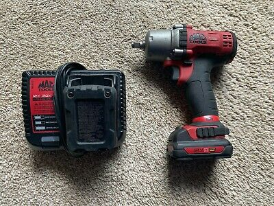 $274.95 • Buy Mac Tools 3/8  Drive 12V Cordless Power Impact Wrench Driver 2 Batteries Charger