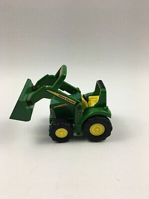 AU6.42 • Buy ERTL John Deere Tractor Front End Loader Plastic Green Yellow Farm Equipment