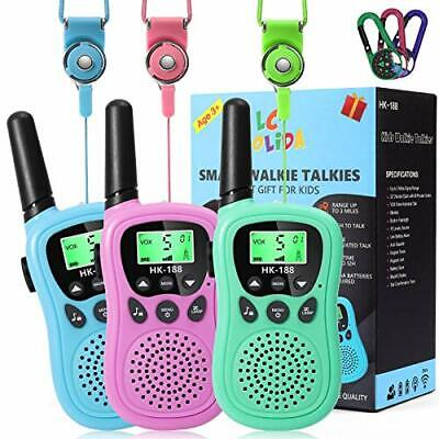 AU48.04 • Buy Walkie Talkies For Kids, 5KM Long Range Toys For 3-12 Year Old Boys Girls Gifts