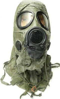 $152.77 • Buy **  U. S. M-17 Gas Mask New Complete W/ Chemical Hood & New Filters