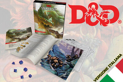 AU70.10 • Buy Dungeons And Dragons Fifth Edition D&d Starter Set IN Italian Game Role Play