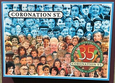 £13 • Buy CORONATION STREET Characters PUZZLE 1000 PIECES 35 YEARS 1960-1995 SEALED BAG VG