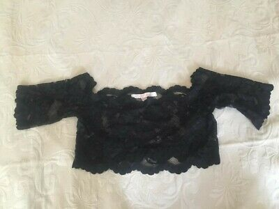 Victoria Secrets Crop Top. Lace And Eyelets. Sz LARGE • 3.50£