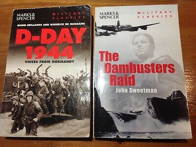 £4 • Buy The Dambusters Raid & D-Day 1944 Two M & S Paperback Books - Good Condition