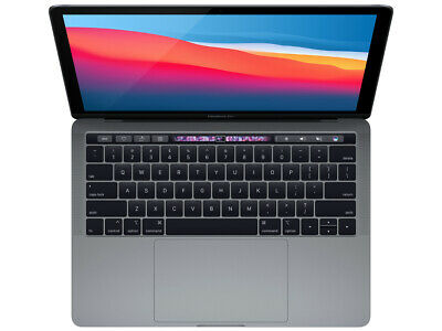 """View Details 2018 Apple MacBook Pro Touch Bar 13"""" Gray 