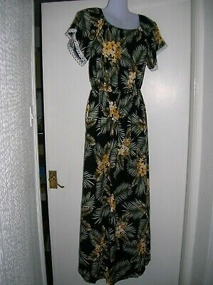 New With Tags Size 10 12 M/l Maxi Dress Summer Hollidays Cruise Party Night Work • 9.50£