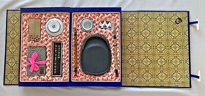 New, Vintage: Chinese Calligraphy Brush Pen Ink Writing Painting Box Set ~ D11 • 24.82£