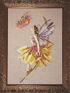 £14.50 • Buy MD82 The Petal Fairy Counted Cross Stitch Chart Pack From Mirabilia