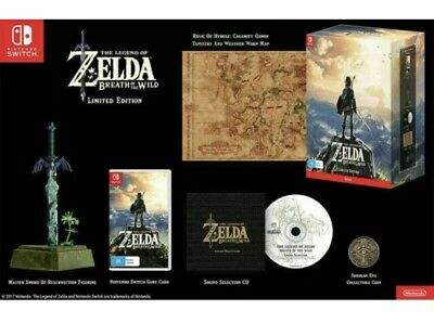 AU250 • Buy The Legend Of Zelda: Breath Of The Wild LIMITED EDITION (Nintendo Switch, 2017)