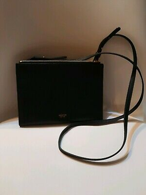 AU110 • Buy New! Oroton Crossbody Leather Handbag, Small Size, Black Colour.
