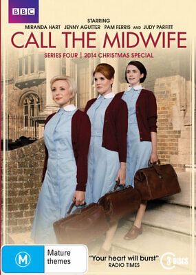 £14.28 • Buy Call The Midwife: Series 4 DVD | 3 Discs | Region 4